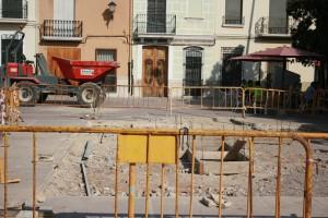 Obras plaza Picaora