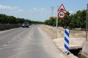 Almassora señalización Camí Benafelí