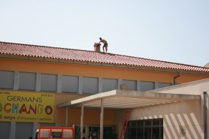 Obras reforma colegio Hermanos Ochando