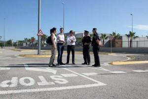 Almassora visita parque educación vial Onda