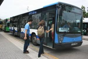 Almassora autobús UJI - arxiu