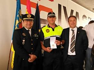 Condecoración agente Policía Local Almassora